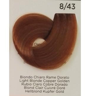 Tinta Biondo Chiaro Rame Dorato 8/43 Inebrya Color - prodotti per parrucchieri - hairevolution prodotti