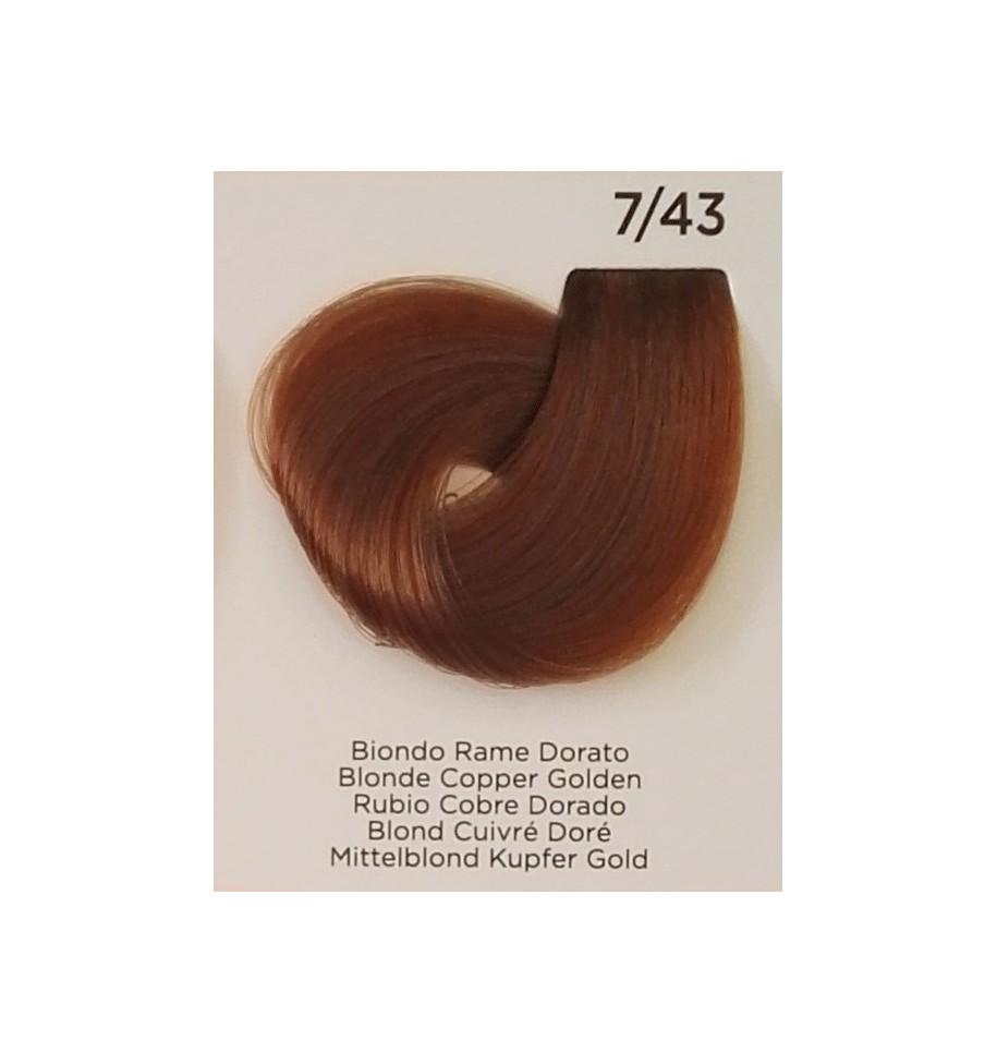 Tinta Biondo Rame Dorato 7/43 Inebrya Color - prodotti per parrucchieri - hairevolution prodotti