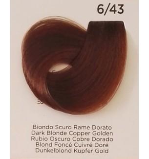Tinta Biondo Scuro Rame Dorato 6/43 Inebrya Color - prodotti per parrucchieri - hairevolution prodotti