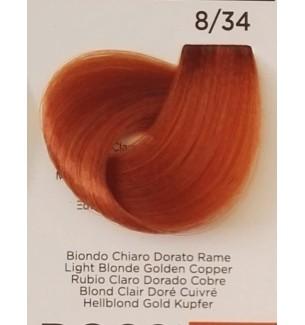Tinta Biondo Chiaro Dorato Ramato 8/34 Inebrya Color - prodotti per parrucchieri - hairevolution prodotti