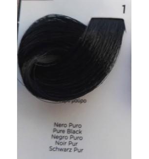Tinta per capelli Nero Puro 1 100 ml Inebrya Color - prodotti per parrucchieri - hairevolution prodotti