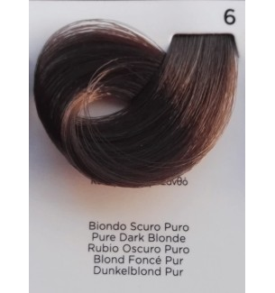 BIONDO SCURO PURO 6 100 ml Inebrya Color - prodotti per parrucchieri - hairevolution prodotti