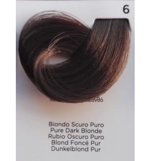 Tinta Biondo Scuro Puro 6 100 ml Inebrya Color - prodotti per parrucchieri - hairevolution prodotti