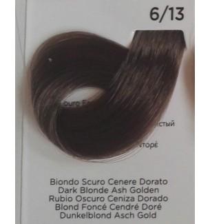 Tinta Biondo Scuro Cenere Dorato 6/13 100 ml Inebrya Color - prodotti per parrucchieri - hairevolution prodotti
