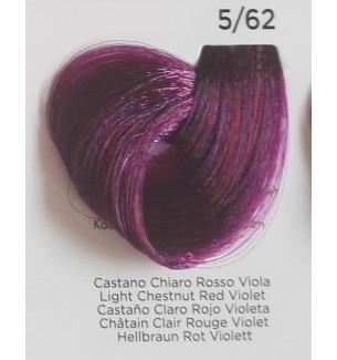Tinta Castano Chiaro Rosso Viola 5/62 100 ml Inebrya Color