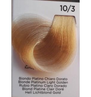 Tinta Biondo Platino Chiaro Dorato 10/3 100 ml Inebrya Color - prodotti per parrucchieri - hairevolution prodotti