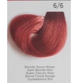 Tinta Biondo Scuro Rosso 6/6 100 ml INEBRYA COLOR - prodotti per parrucchieri - hairevolution prodotti
