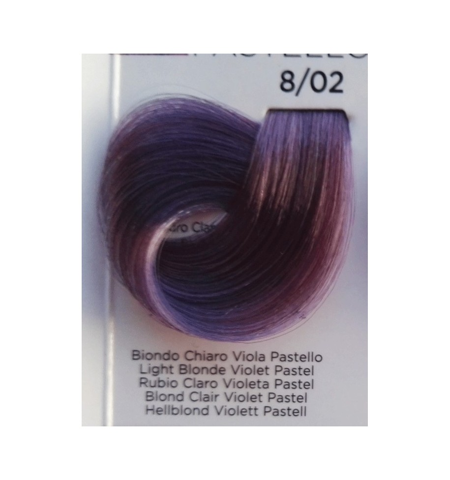Tinta Biondo Chiaro Viola Pastello 8/02 100 ml Inebrya Color - prodotti per parrucchieri - hairevolution prodotti