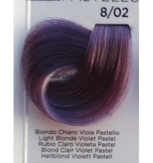 Tinta Biondo Chiaro Viola Pastello 8/02 100 ml Inebrya Color
