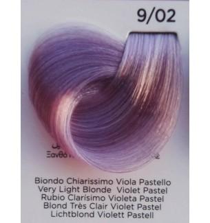 Tinta Biondo Chiarissimo Viola Pastello 9/02 100 ml Inebrya Color - prodotti per parrucchieri - hairevolution prodotti
