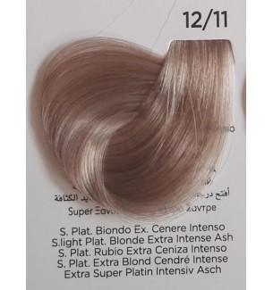 Tinta Super Platino Biondo Extra Cenere Intenso 12/11 100 ml Inebrya Color - prodotti per parrucchieri - hairevolution prodotti