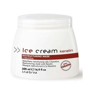 Maschera Ristrutturante alla Cheratina Restructuring Mask 500 ml - prodotti per parrucchieri - hairevolution prodotti