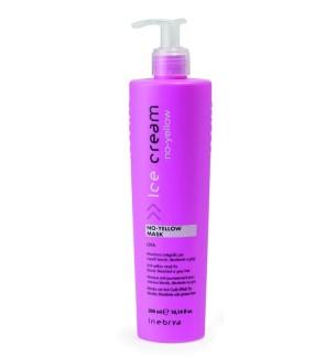 Maschera antigiallo all'uva No Yellow 1000ml Inebrya - prodotti per parrucchieri - hairevolution prodotti