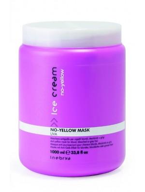 21174 MASK ANTIGIALLO UVA NO YELLOW 1000ML INEBRYA - prodotti per parrucchieri - hairevolution prodotti