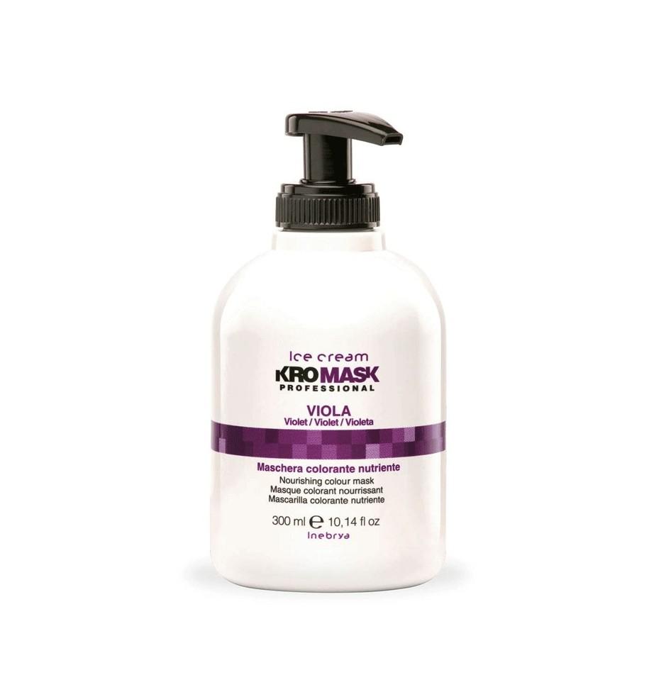 Maschera Colorata Nutriente Kromask Viola 300 ML Inebrya - prodotti per parrucchieri - hairevolution prodotti
