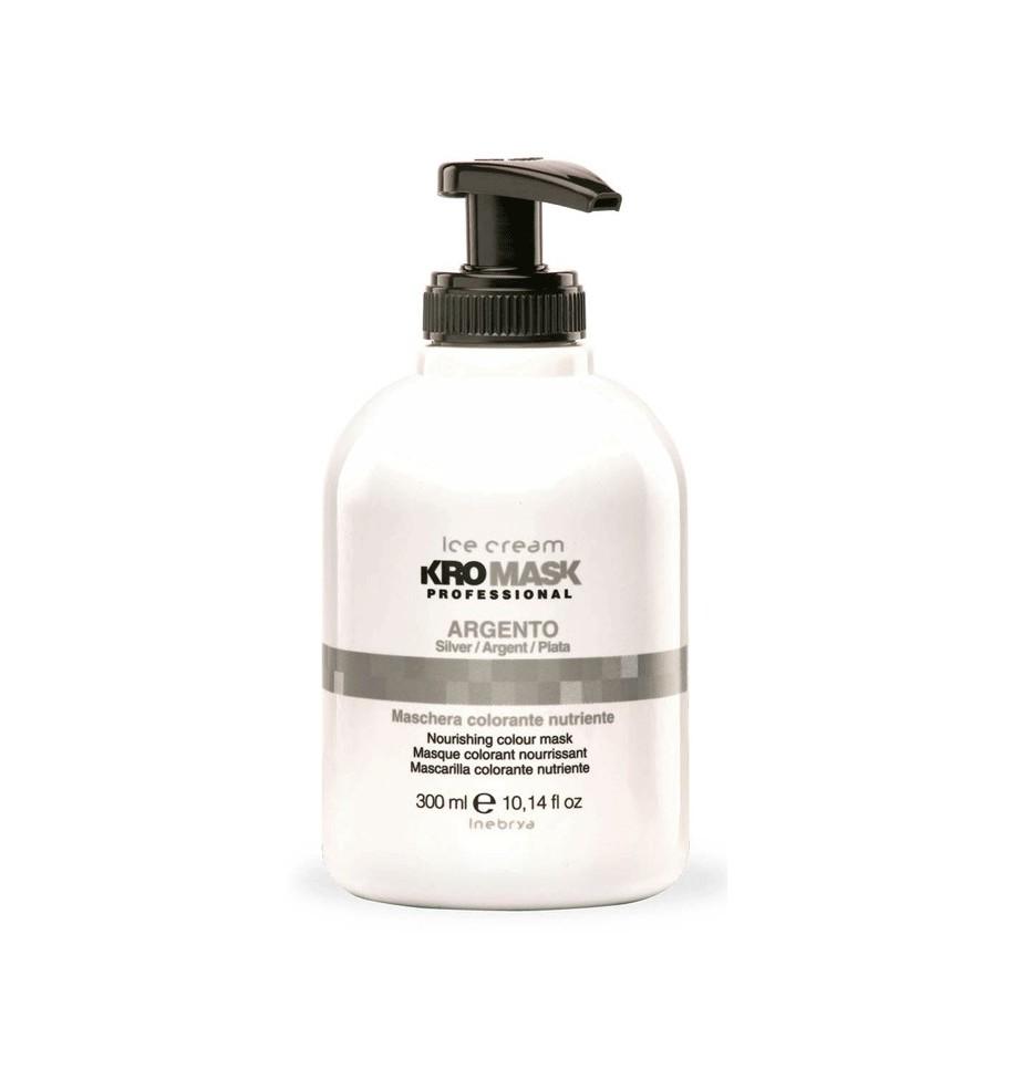 Maschera Colorante Nutriente Kromask Argento 300ml Inebrya - prodotti per parrucchieri - hairevolution prodotti