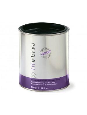 Polvere decolorante per capelli profumata Viola 500gr Inebrya - prodotti per parrucchieri - hairevolution prodotti