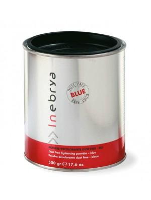 Polvere decolorante per capelli profumato Blue 500 gr Inebrya - prodotti per parrucchieri - hairevolution prodotti