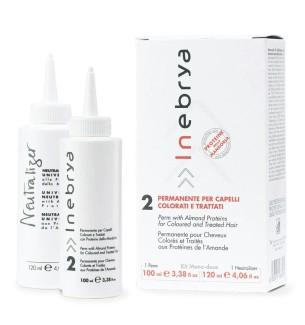 Permanente per capelli ricci colorati e trattati Monodose 2 Inebrya - prodotti per parrucchieri - hairevolution prodotti