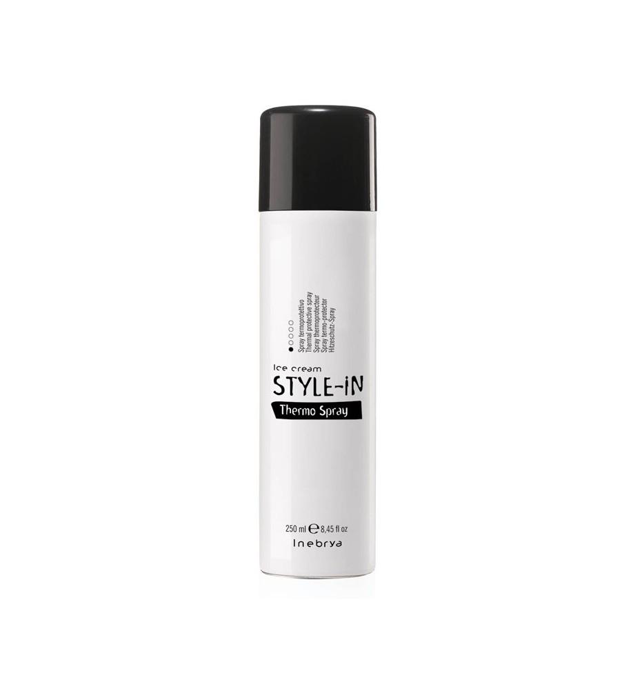 Spray Termoprotettivo per capelli Style-In 250ml Inebrya - prodotti per parrucchieri - hairevolution prodotti