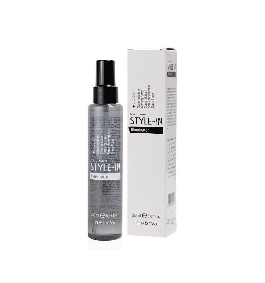 Spray per capelli Lucidante Illuminator Style-In 150ml Inebrya - prodotti per parrucchieri - hairevolution prodotti