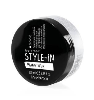 Cera modellante per capelli Water Wax 100 ml Inebrya - prodotti per parrucchieri - hairevolution prodotti