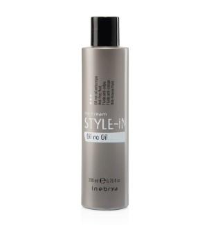 Olio Anticrespo capelli Ricci Oil no Oil Style-In 300ml Inebrya - prodotti per parrucchieri - hairevolution prodotti