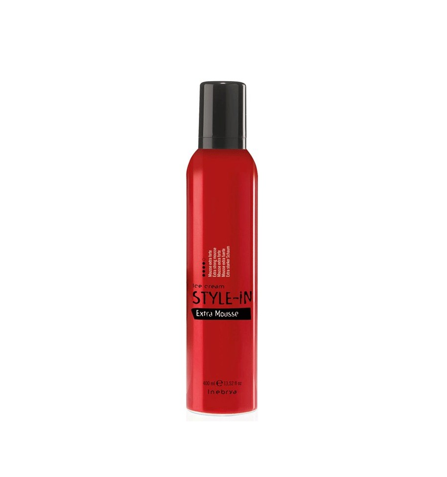 Extra Forte Mousse 400 ml Inebrya - prodotti per parrucchieri - hairevolution prodotti