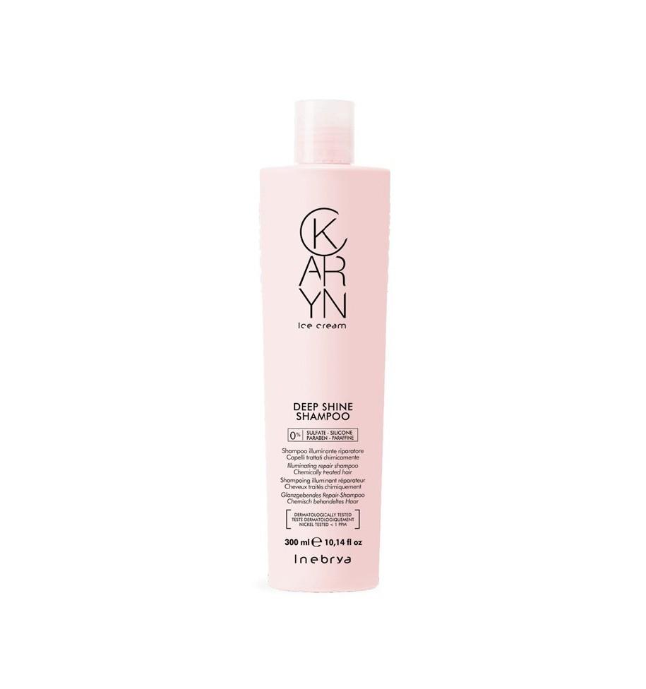 Shampoo Illuminante Riparatore Deep Shine Karin 300ml - prodotti per parrucchieri - hairevolution prodotti
